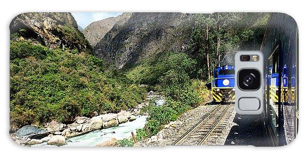 Railway To Machu Picchu Galaxy Case