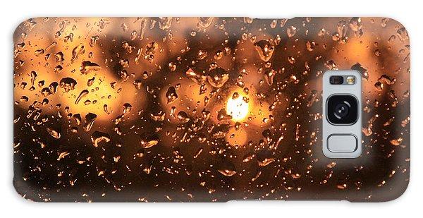 Rain And Sunset Galaxy Case