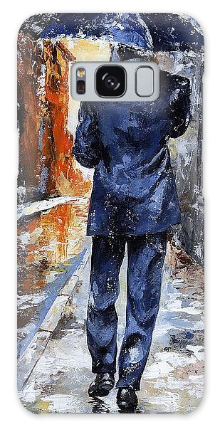 Rain Day #20 Galaxy Case by Emerico Imre Toth