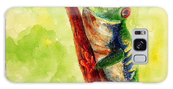 Rain Forest Frog Galaxy Case