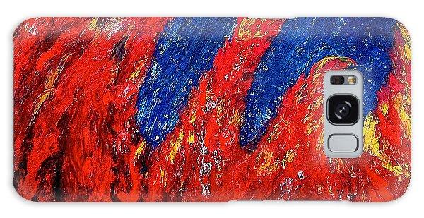 Rain On Fire Galaxy Case