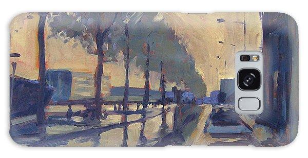 Briex Galaxy Case - Rain On The Havendijk Tilburg by Nop Briex