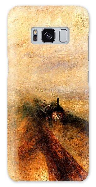 Rain Steam And Speed.  Galaxy Case by J M W Turner