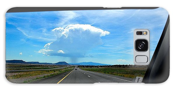 Galaxy Case featuring the photograph Rain Storm by Gerald Greenwood