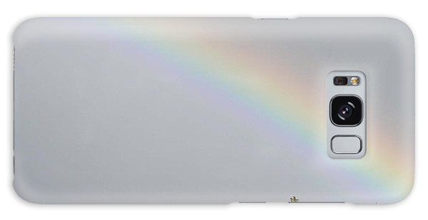 Rainbow After The Rain Galaxy Case by Barbara Griffin