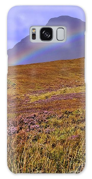 Rainbow And Heather Galaxy Case