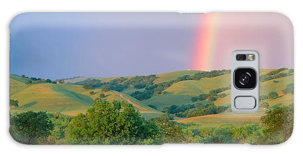 Contour Galaxy Case - Rainbow And Rolling Hills In Central by Panoramic Images
