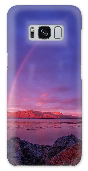Rainbow And Sunset Galaxy Case