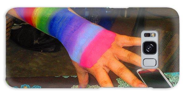 Rainbow Arm Galaxy Case