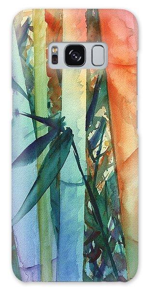 Rainbow Bamboo 2 Galaxy Case by Marionette Taboniar