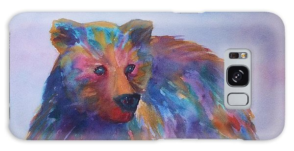 Rainbow Bear Galaxy Case by Ellen Levinson