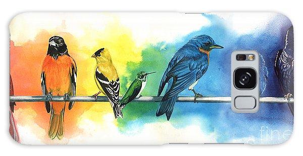 Cardinal Galaxy Case - Rainbow Birds by Do'an Prajna - Antony Galbraith