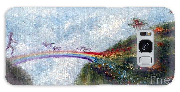 Tabby Galaxy Case - Rainbow Bridge by Stella Violano