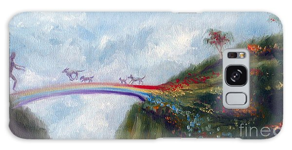 Architecture Galaxy Case - Rainbow Bridge by Stella Violano