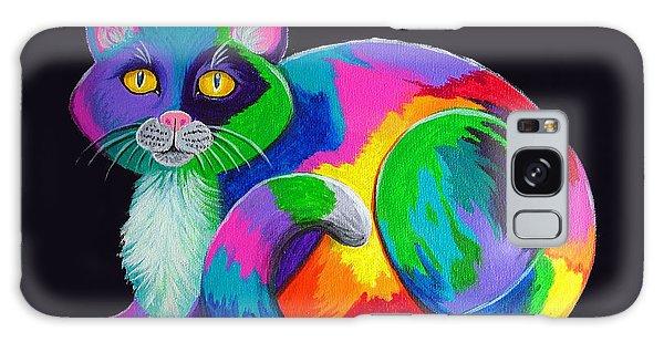 Calico Cat Galaxy Case - Rainbow Calico by Nick Gustafson
