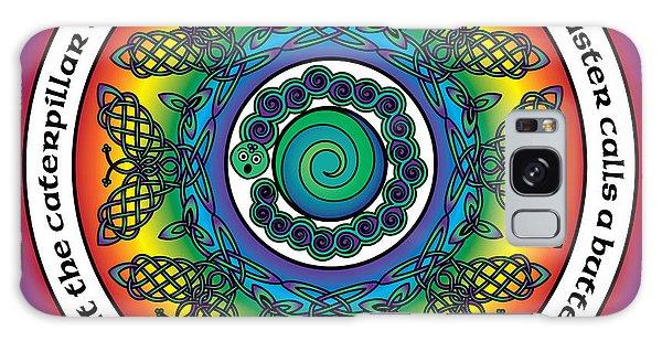 Rainbow Celtic Butterfly Mandala Galaxy Case