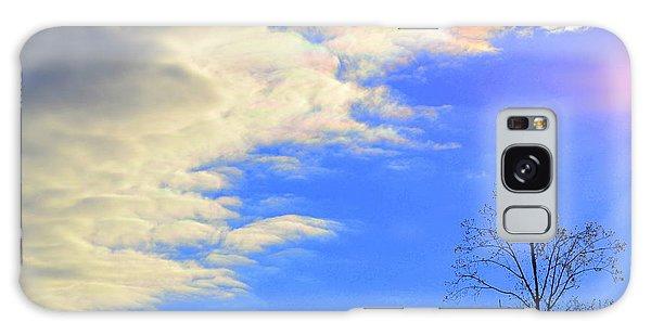 Rainbow Clouds Galaxy Case