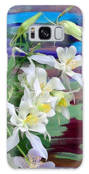Rainbow Columbine Galaxy Case by Brenda Pressnall