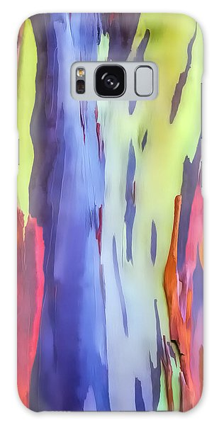 Rainbow Eucalyptus 2 Galaxy Case by Dawn Eshelman