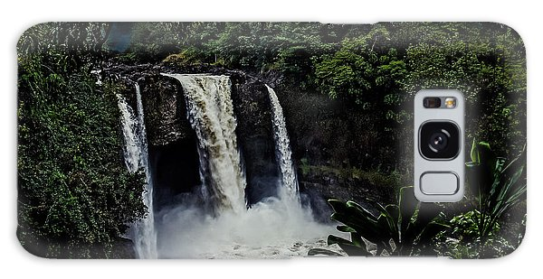 Rainbow Falls Galaxy Case