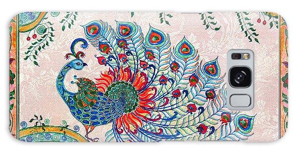 Madhubani Galaxy Case - Rainbow Feathers by Anjali Vaidya