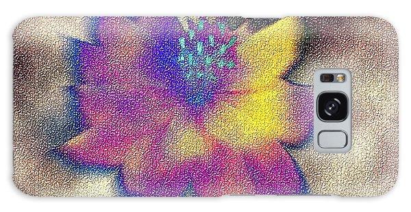 Rainbow Flower Galaxy Case