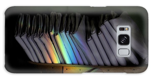 Rainbow In A Basket Galaxy Case