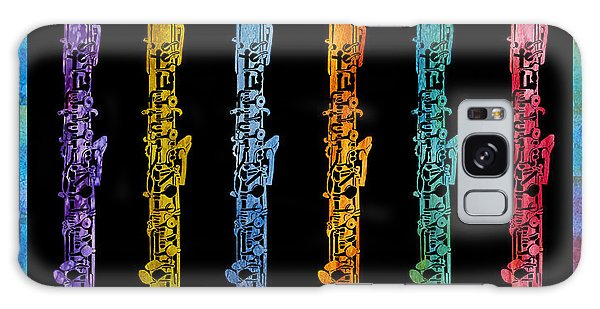 Rainbow Of Oboes Galaxy Case