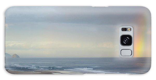 Rainbow On My Beautiful Beach Galaxy Case