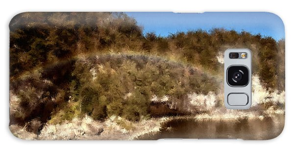 Rainbow On The Cumberland Galaxy Case by Ken Frischkorn