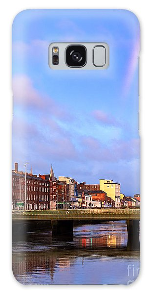 Rainbow Over Cork Galaxy Case by Daniel Heine
