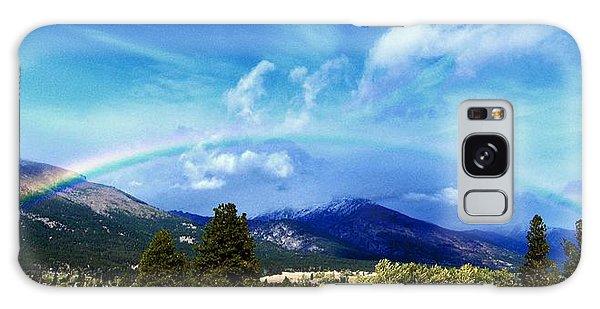 Rainbow Over Hamilton Montana Galaxy Case