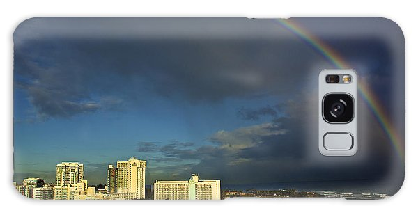 Rainbow Over San Juan Galaxy Case