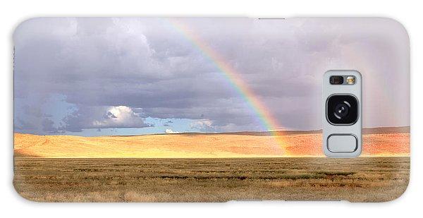 Rainbow Over Sossulvei Galaxy Case