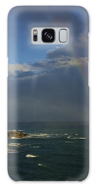 Rainbow Over The Atlantic Galaxy Case