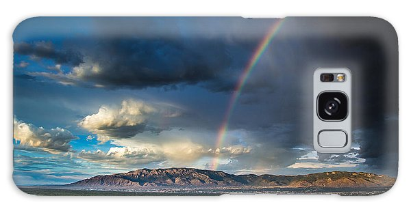 Rainbow Over The Sandias Galaxy Case