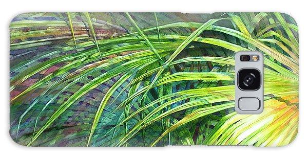 Rainbow Palms Galaxy Case