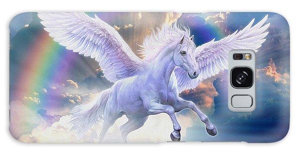 Rainbow Pegasus Galaxy Case by Jan Patrik Krasny