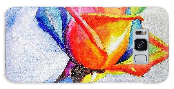 Rainbow Rose Galaxy Case by Carlin Blahnik
