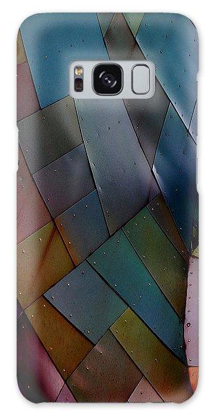 Rainbow Shingles Galaxy Case by Holly Blunkall