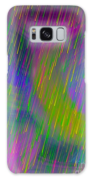 Rainbow Showers Galaxy Case by Gayle Price Thomas