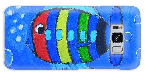Rainbow Submarine Fish Galaxy Case