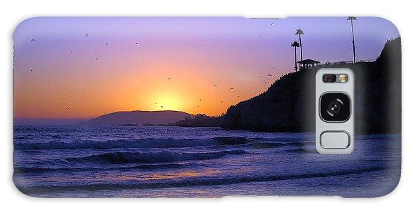 Rainbow Sunset Galaxy Case by Debra Thompson