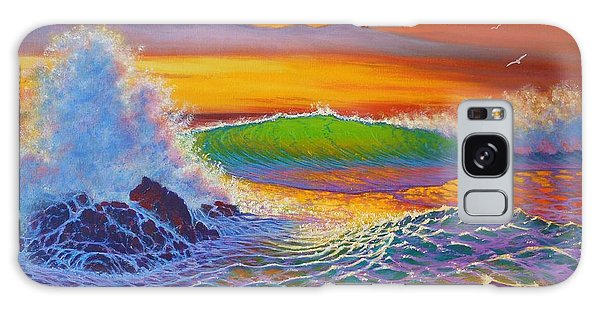 Rainbow Sunset IIi Galaxy Case