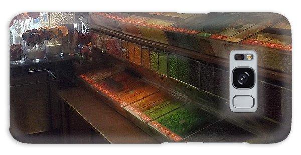 Rainbow Vintage Jelly Bean Shop Galaxy Case