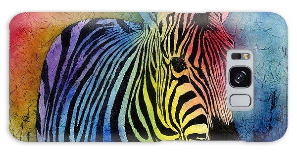 Rainbow Galaxy Case - Rainbow Zebra by Hailey E Herrera