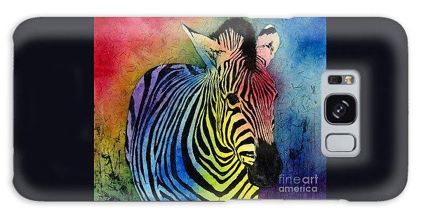 Rainbow Zebra Galaxy Case