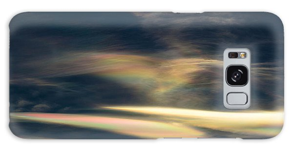 Rainbow Hearts Galaxy Case