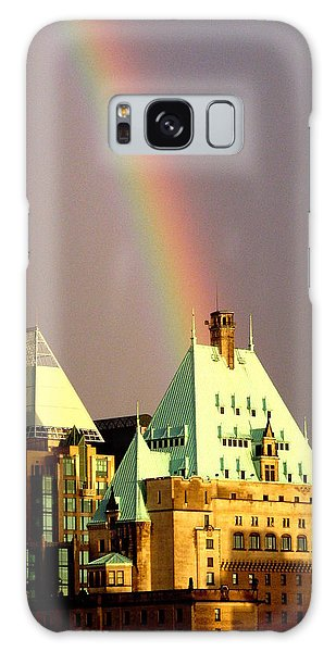 Rainbow's End Galaxy Case by Brian Chase