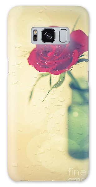 Rose Galaxy Case - Raindrops On Roses . . . by Jan Bickerton
